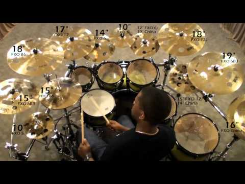 Soultone Cymbals FXO Demo Video 2011
