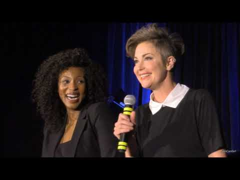 Montreal Con Lisa Berry and Kim Rhodes FULL Panel 2018 Supernatural