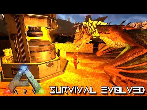 ARK: SCORCHED EARTH - THE DRAGON FORGE !!! E17 (ARK SURVIVAL EVOLVED GAMEPLAY)
