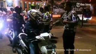 VIDEO Betapa Banyaknya Siswa Terjaring Razia Saat Konvoi Kendaraan, Ini Dia Hukumannya