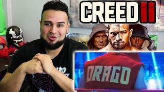 IVAN DRAGOS SON LOOKS HUGE! REACTING TO CREED 2 Trailer (2018) | CREED II REACTION