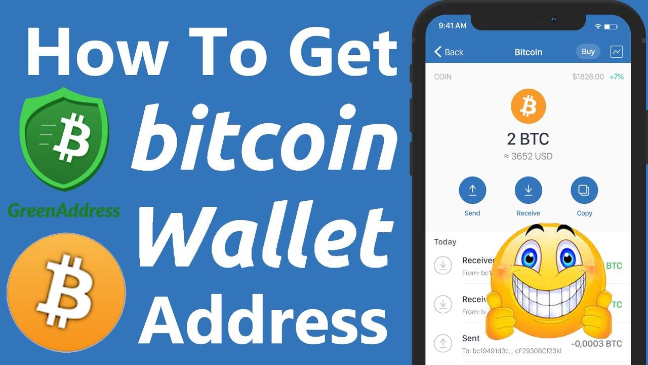 green address bitcoin wallet apžvalga