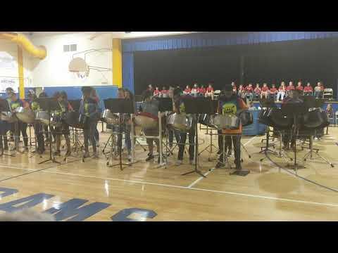 Raa Middle School Steel Band - Africa