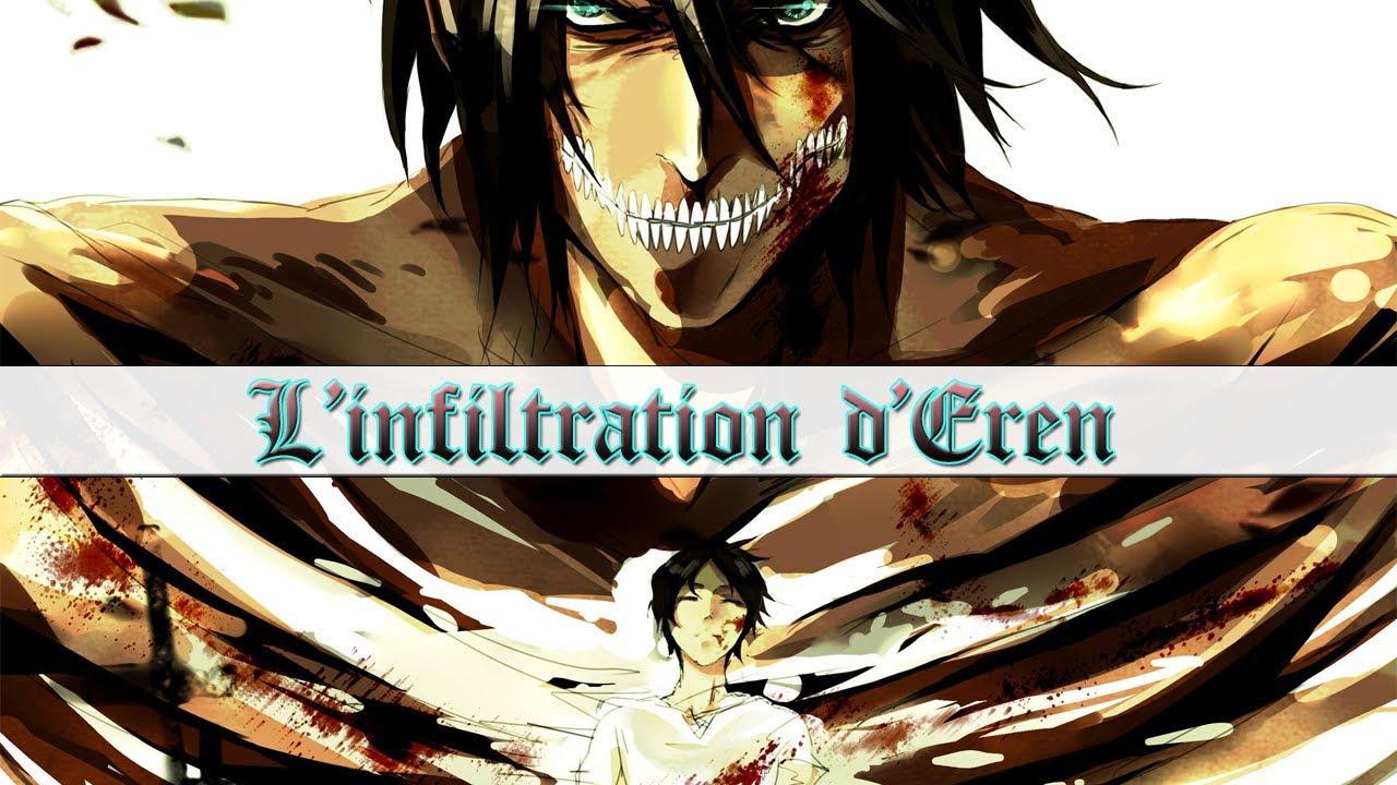 THÉORIE : L'INFILTRATION D'EREN (Chapitre 94 - L'attaque des Titans) - YouTube
