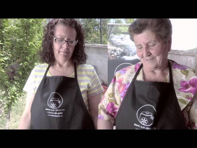 Torrecilla de los Ángeles - Floretas - Sierra que alimenta cocina de Gata