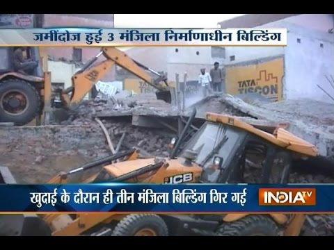 Man Found Alive after 8 Hours in Meerut Building Rubble