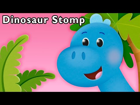 S Is for Stomp | Dinosaur Stomp and More | Baby Songs for Kids from Mother Goose Club!