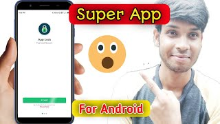 Super Apps Lock for all Android User 😊😊😊| AppLock On Any Android | In hindi Video