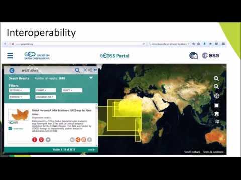 Webinar ECOWREX Spatial Data Infrastructure