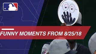 Funniest Moments from baseball on 8/25/18