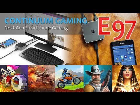 Microsoft Continuum Gaming: Let's Play 97! (Mongo Dash, Submarine Patrol, Hell Rider 3d)