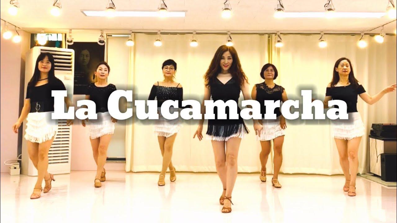 La Cucamarcha line dance(Beginner) 라쿠카라차🌼병정들이 전진한다~🎶