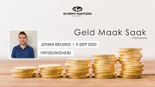 6 September 2020 - Geld Maak Saak (3/3)