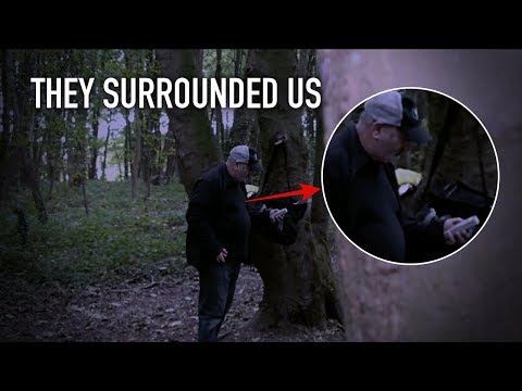 WITCHES WOODS REDEMPTION HAUNTED FINDERS SPECIAL (THEY SURROUNDED US)