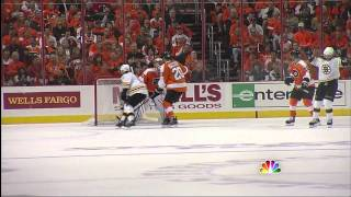 Bruins-Flyers Game 1 2011 Highlights 4/30/11 1080p HD