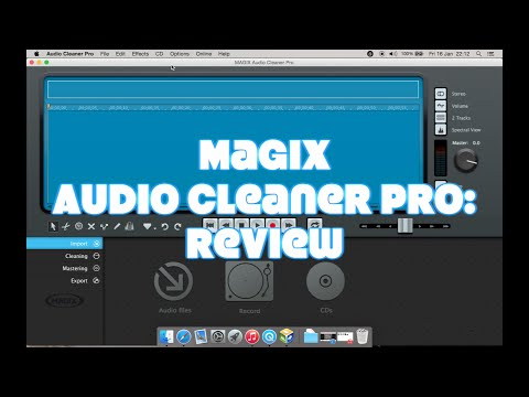 Magix Audio Cleaner Pro: Review & Tutorial