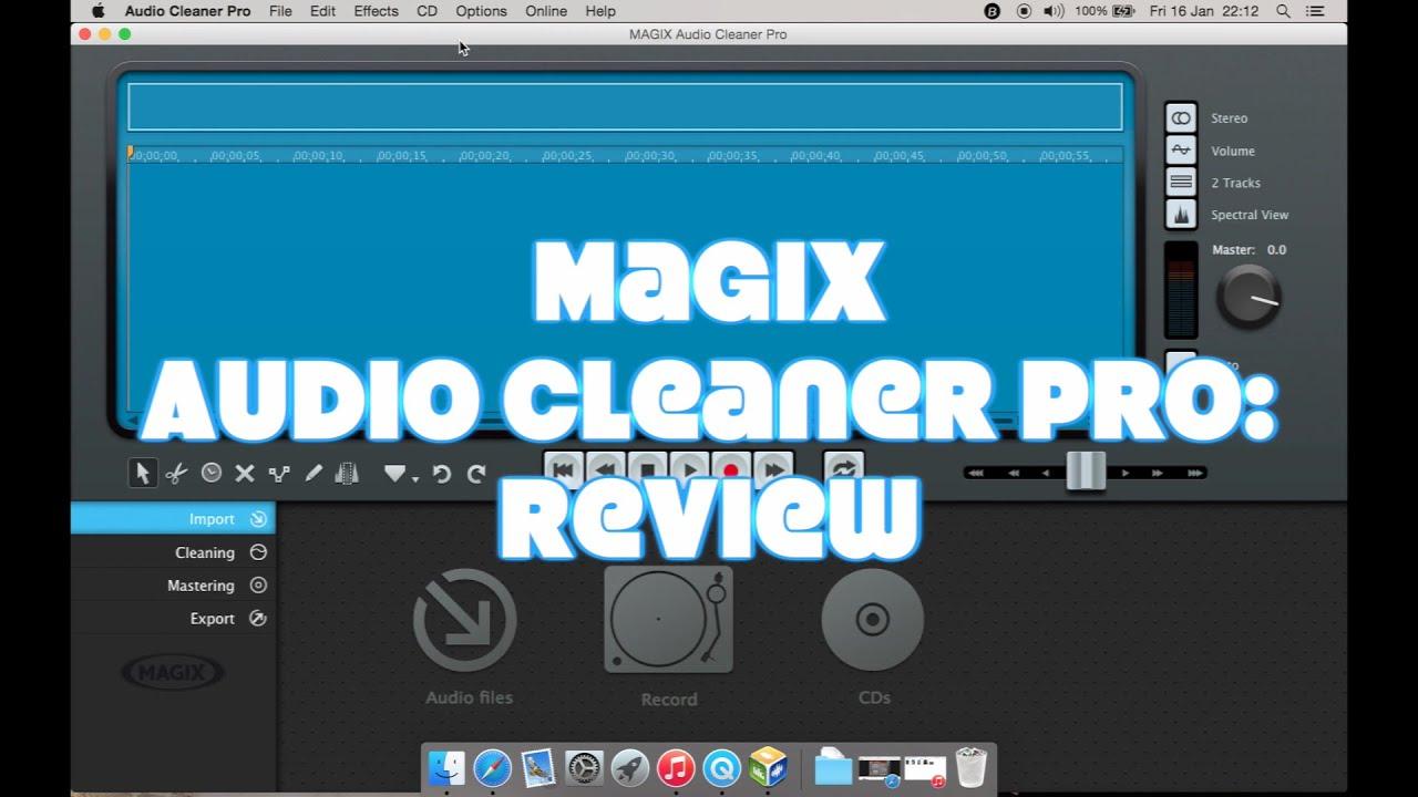 magix audio cleaning lab 2016 test