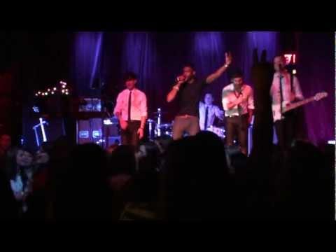 "Honor Society & Aaron Camper Sing ""Happy Birthday"" to Adam Blackstone 12-4-2011"
