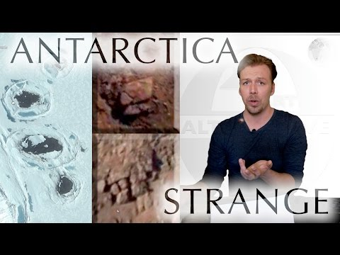 Antarctica STRANGE discoveries - NEW ANCIENT ARTIFACTS (04/0