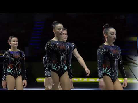 REPLAY - 2019 Aerobics Europeans - Junior Groups Final