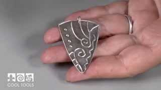 How to use Scratch Foam Board with Precious Metal Clay by Lisel Crowley