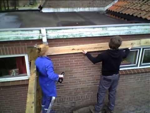 Tuin Veranda Maken : Veranda bouwen met koen en mieke #3 youtube