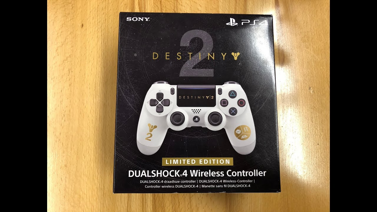 PS4 - Destiny 2 Limited Edition Controller - Unboxing