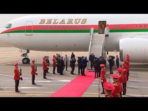 Начался официальный визит Лукашенко в Грузию