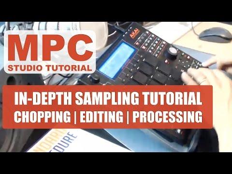 Akai MPC Studio Black // In-depth Sampling Tutorial // Akai MPC Studio Black
