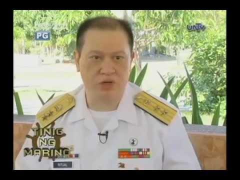 PMMA Philippine Merchant Marine Academy UNTV interviews RAdm Ritual