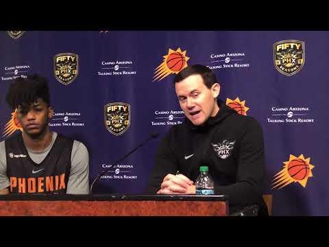 Elfrid Payton & Ryan McDonough Phoenix Suns Press Conference 2/10/18