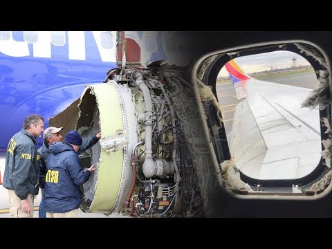 Evidence of metal fatigue in deadly Southwest plane engine explosion