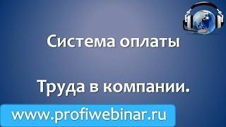 Система оплаты труда в компании(