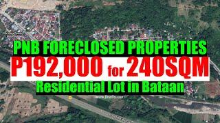 Download lagu PNB Foreclosed Properties Residential Lot, P192,000, 240SQM at Bataan