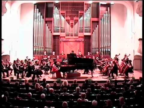 Chopin Concerto No. 2, Mvt. II. Eva Virsik, piano.