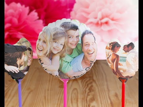 Globos personalizados con fotos ¡a todo color!