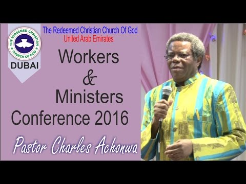 RCCG Dubai Workers And Ministers Conference 2016