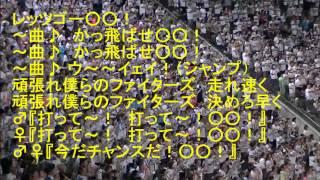 日本ハムファイターズチャンステーマ「チキチキバンバン」から「おーい...