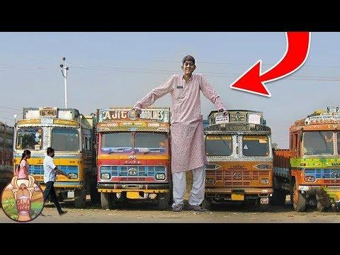 L'homme le plus grand du monde, sa taille va vous choquer