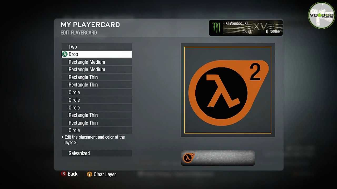 half life 2 emblem logo call of duty black ops emblem editor series episode 30 youtube