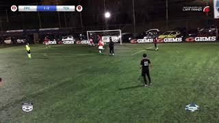 Stella Azzurra LC8 2018/19 Franco Picchiapò Calcio a 8 VS Testaccio Calcio a 8 3-3