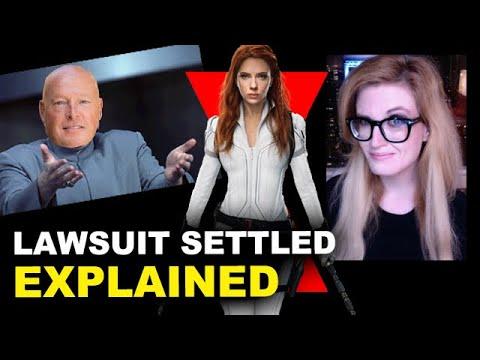 Scarlett Johansson Settled the Black Widow Lawsuit with Disney