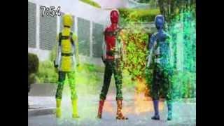 power rangers after megaforce powered custom morph