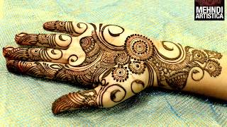easy simple beautiful circular mehndi designs for hands latest henna for palm mehndiartistica design