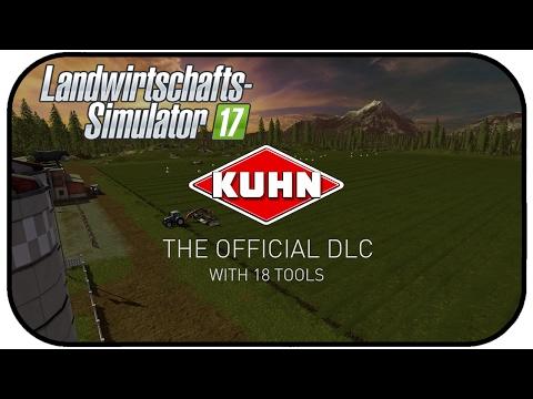 LS17 KUHN Mergemaxx 902 Trailer