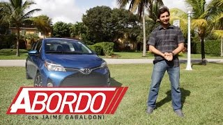 Toyota Yaris 2015 Prueba A Bordo Full