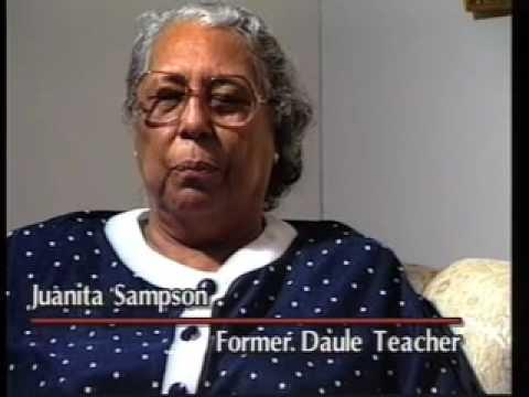 Daule Colored School - Cuero, TX - Desegregation - Busing - Black History