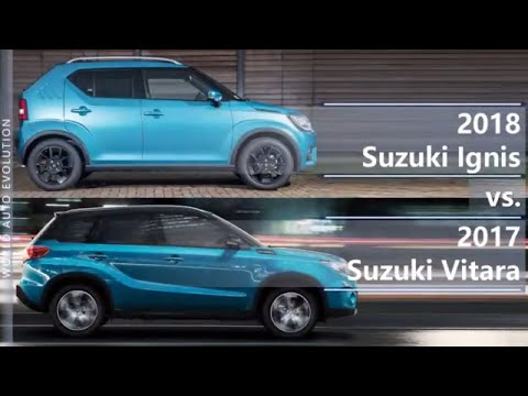 2018 Suzuki Ignis vs 2017 Suzuki Vitara (technical comparison)