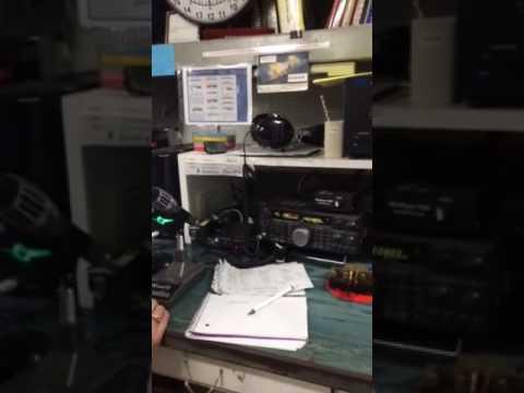 USS Missouri Radio Room
