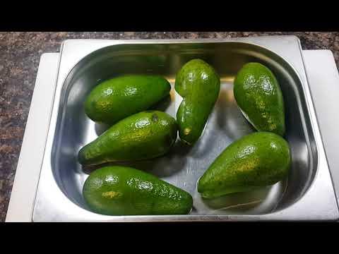 Как ускорить процесс созревания авокадо
